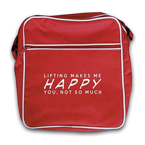 Retro Makes Not You Black Flight Much Red Bag Lifting So Me Happy xaWBpqB
