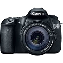 Canon EOS 60D 18 MP CMOS Digital SLR Camera with 18-135mm f/3.5-5.6 IS UD Lens (discontinued by manufacturer)