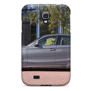 Funnylife4 Fashion Protective Silver Ac Schnitzer Bmw Acs1 Side View Cases Covers For Galaxy S4