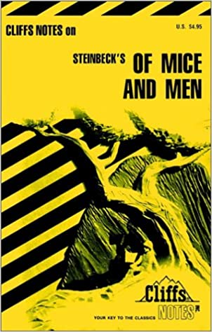 Of Mice And Men Cliffs Notes 9780822009399