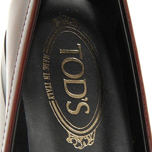 Mocassino Tod's Mosto Donna 1675g Loafer Scarpa Wom Viola Colore Classico Gomma Shoes dHtdqw