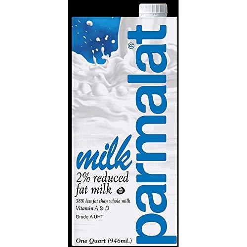 - Parmalat 2 Percent Reduced Fat Milk, 2.15 Pound -- 12 per case.