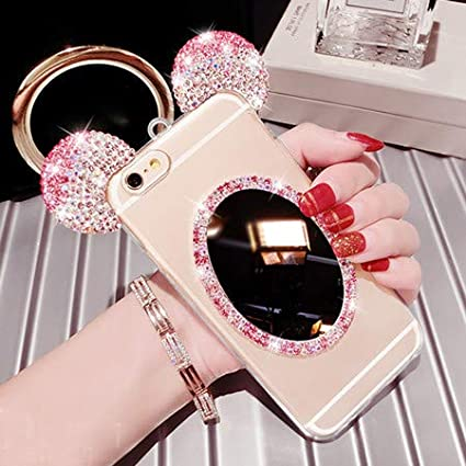 Amazon.com: 1 piece Mirror Silicon Bling Case For IPhone 7 ...