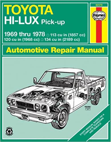 Toyota hilux pick up 1969 78 haynes repair manuals haynes toyota hilux pick up 1969 78 haynes repair manuals 1st edition fandeluxe Image collections