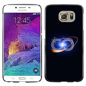 Smartphone Rígido Protección única Imagen Carcasa Funda Tapa Skin Case Para Samsung Galaxy S6 SM-G920 Funny Infinite Loop / STRONG