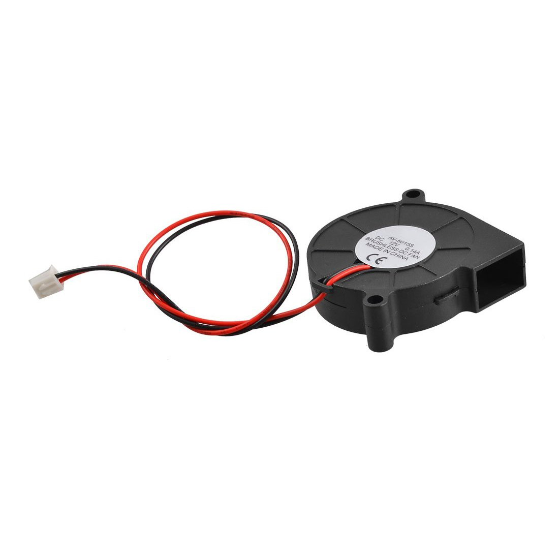 TOOGOO(R) Black Brushless DC Cooling Blower Fan 5015S 5V 0.14A 50mm x 15mm