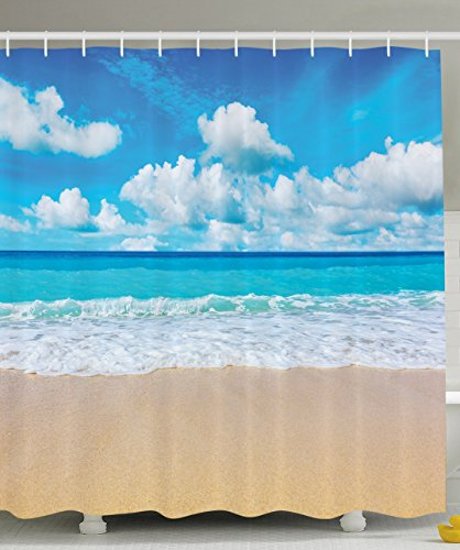 Ambesonne Contemporary Collection Seascapes Landscape