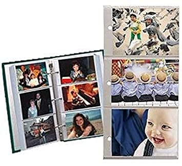 Amazoncom Pioneer Refill Pages For 3 Ring Photo Albums Holds 4x6
