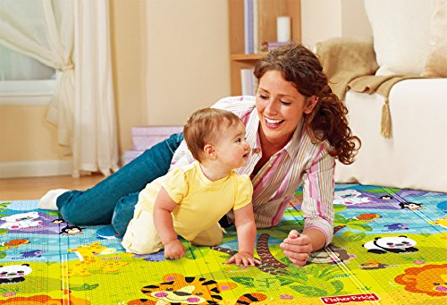Fisher Price Portable Playmat 140x200 x1.0 cm Numbers
