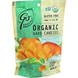 Go Organic Hard Candy Iced Mint Mango, 6 Count