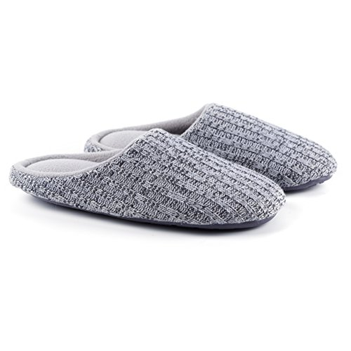 adulte Gris Chaussons mixte Ofoot Clair wnARgOnq