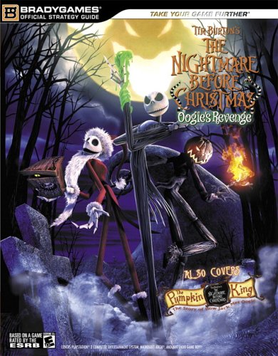 Tim Burton's The Nightmare Before Christmas: Oogie's Revenge OfficialStrategy Guide (Official Strategy Guides (Bradygames))