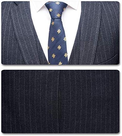 スーツ メンズ セットアップ スリーピーススーツ ストライプ柄 2つボタン 大きいサイズ S-4XL テーラードジャケット ビジネス 春