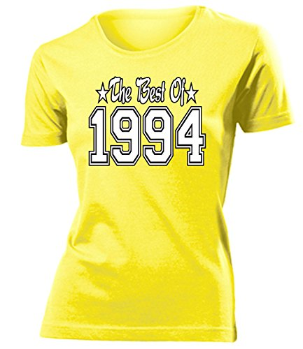THE BEST OF 1994 - DELUXE - Birthday mujer camiseta Tamaño S to XXL varios colores Amarillo