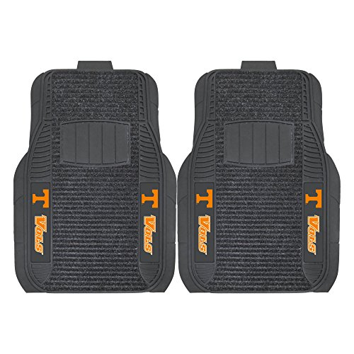 (FANMATS NCAA University of Tennessee Volunteers Nylon Face Deluxe Car Mat)