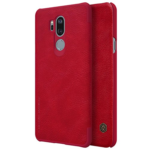 separation shoes cb7b1 6d908 Amazon.com: LG G7 Case,LG G7 Synthetic Leather Case,Opdenk- Nillkin ...