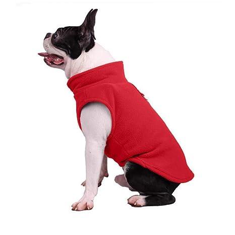 BAONUAN Vestiti Dell Animale Domestico Vestiti Del Cane Del Vello Di Inverno  Di Inverno Vestiti. Scorri sopra l immagine per ingrandirla 79908ee8348