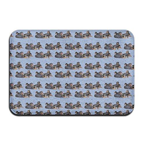 Rottweiler Family Group Indoor Bathroom Mats 2416 Inch Floor Mat