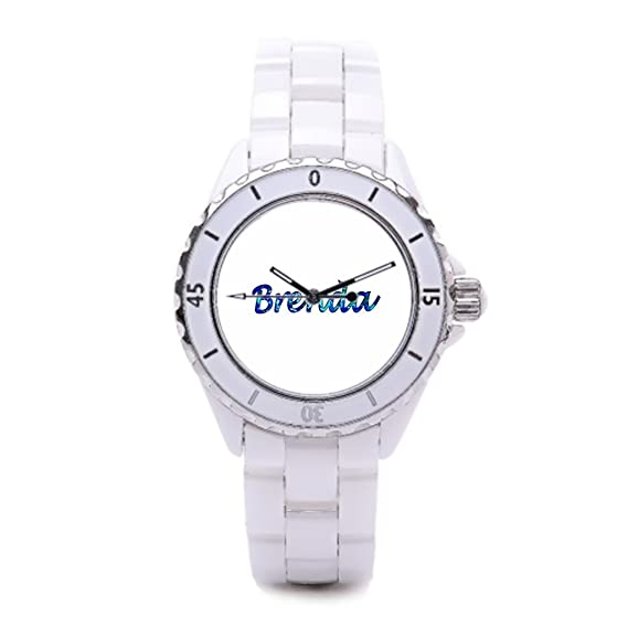 Redondo reloj de pulsera marcas pequeño reloj de lujo marcas blanco Buenos relojes