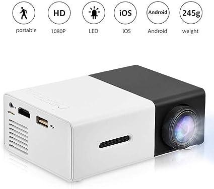 Mini proyector 1080P proyector llevado portable Inicio Cine Teatro ...