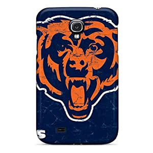 High Grade Frashop986 Flexible Tpu Cases For Galaxy S4 - Chicago Bears