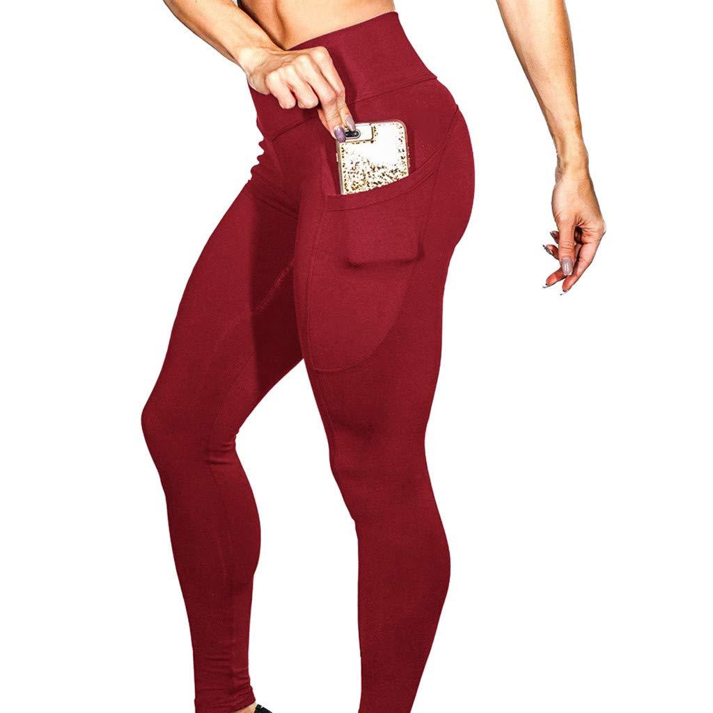 ABCone ❤️ Leggings Donna Pantaloni da Yoga Donna Palestra Donna Leggings Donna Fitness Palestra Pantaloni Leggins Sportivi Donna Legging Sport Yoga Pantaloni Leggins Fitness Pantaloni