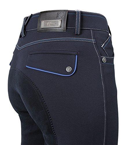 Kerbl Pantaloni Donna Blu Techno Covalliero Equitazione Da Scuro AB6SwrAq