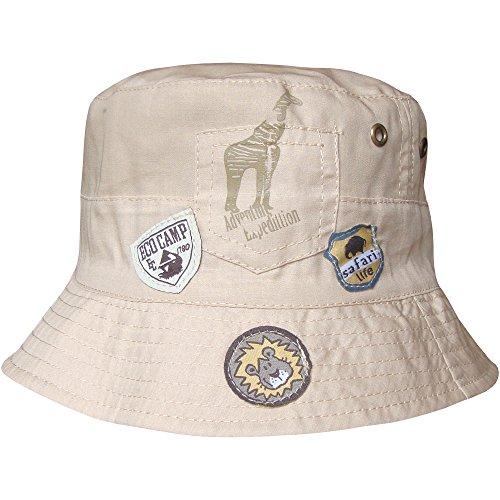 Baby Boys Expedition Adventure Safari Bucket Style Summer Sun Beach Hat (3-6 Months (46cm), Brown)