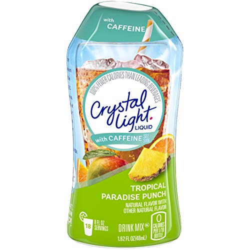 Crystal Light Caffeine Tropical Paradise product image