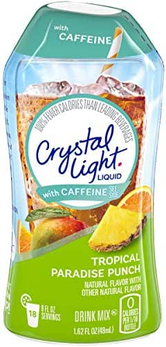 Water Flavoring: Crystal Light with Caffeine