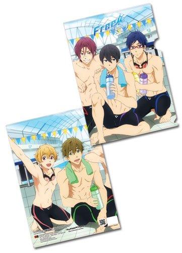 File Folder - Free! - New Group Afterswim Anime Licensed ge26274 B014LV4M9I