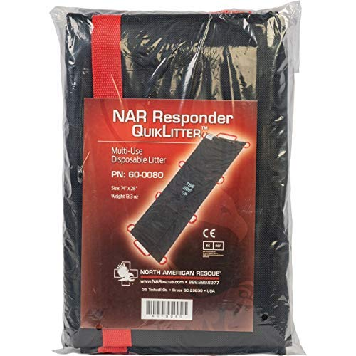 - NAR Responder Quiklitter Cost Effective Emergency Carry Litter Designed for Rapid Deployment