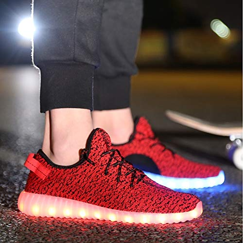 Comfort Heel ZHZNVX Flat Summer Grey da Sneakers Party Light Knit Evening Red Scarpe amp; Gray Black Up Shoes donna XxpnqPxv