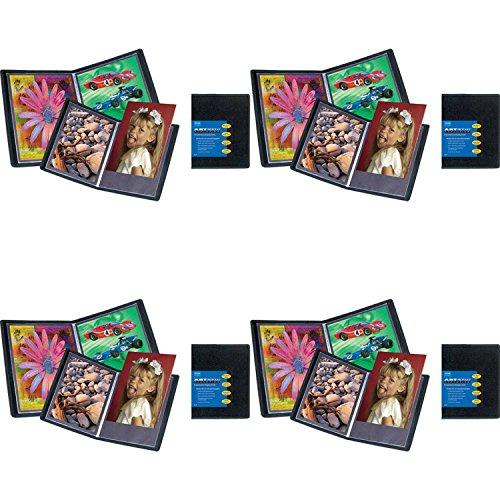 ITOYA AD24-4 Advantage Bound Portfolio w/Clear Polyglass Pages (4 Pack) Bundle by ITOYA (Image #3)