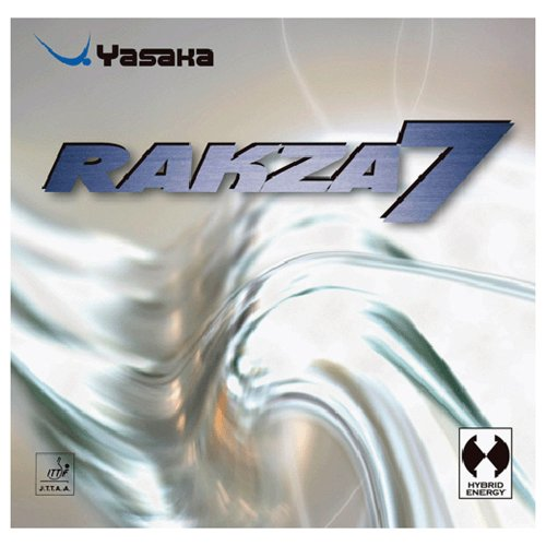 Yasaka Rakza 7 ,Black,Max Table Tennis (Yasaka Table Tennis Rubber)