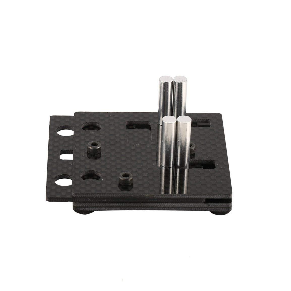 mod/èle: noir gabarit de soudage XT60 // outil Deans T-Plug Bullet Hxt mod/èle RC Grippy en fibre de carbone 70x60x30mm M