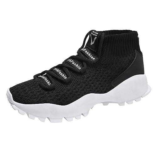 06710a8f8 ALIKEEY Zapatos ♈ Los Hombres De Malla De Mosca Tejida Transpirable Zapatos  Deportivos Cómodos Zapatos Casuales Protective NatacióN Cuero Monje De  Cuerpo ...