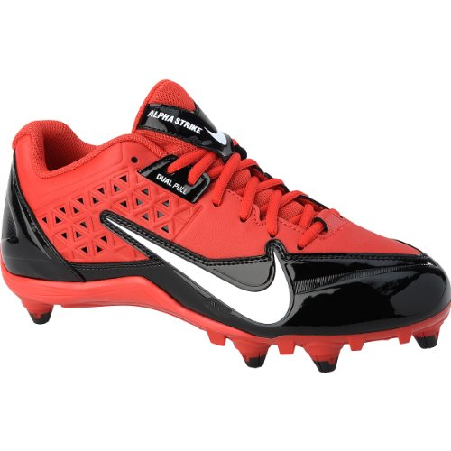 Nike Alpha Strike D Scarpe Da Calcio Uomo Rosso Nero Bianco 42