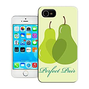niucase cute pears painting picture of TUP new style scratch-proof covers for iphone4