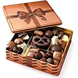 Gourmet Gift Basket - Chocolate Gift Box Food Gifts Prime - Valentine's Day Mothers Day Corporate Gift Box, Assortment Tray - Birthday, Sympathy, Get Well, Men, Woman & Families - Bonnie & Pop