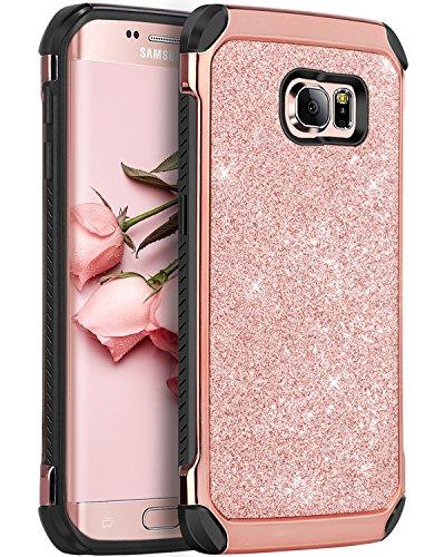 Cheap Cases Galaxy S6 Edge Case, S6 Edge Case, BENTOBEN 2 in 1 Luxury..