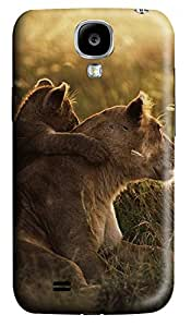Samsung Galaxy S4 I9500 Cases & Covers - African Lions Pictures Custom PC Soft Case Cover Protector for Samsung Galaxy S4 I9500