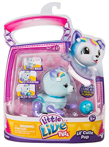 Little Live Pets S1 Cutie Pup Single Pack - Starbow