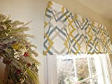 Yellow Window Curtain Valance with Ruffled Top Review
