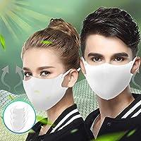 マスク 3枚入り 洗える 繰り返し使用可能 UVカット ひんやり 接触冷感 夏用 抗菌 冷感素材 クールマスク