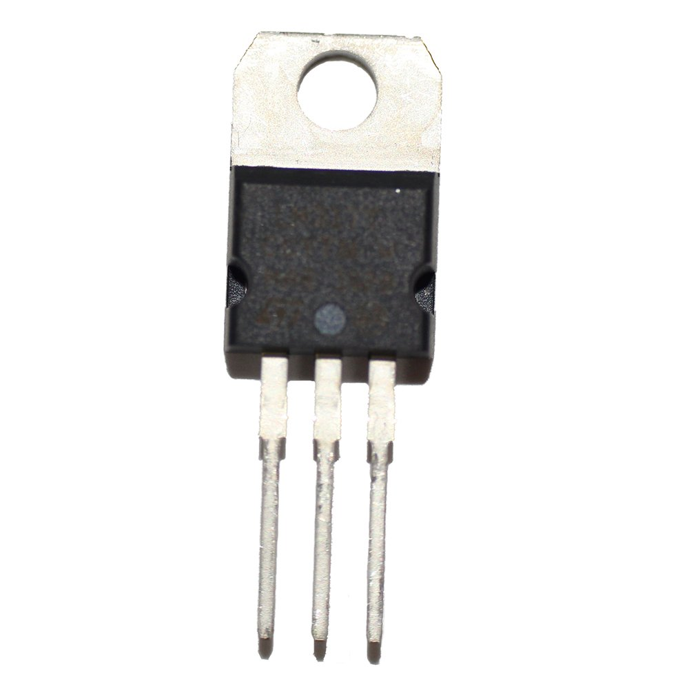 5x 7805  Voltage Regulator 5  V 1  A TO220  CASE ST MICROELECTRONICS