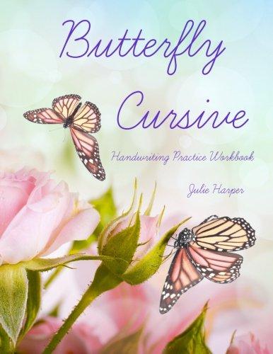 Download Butterfly Cursive Handwriting Practice Workbook pdf epub