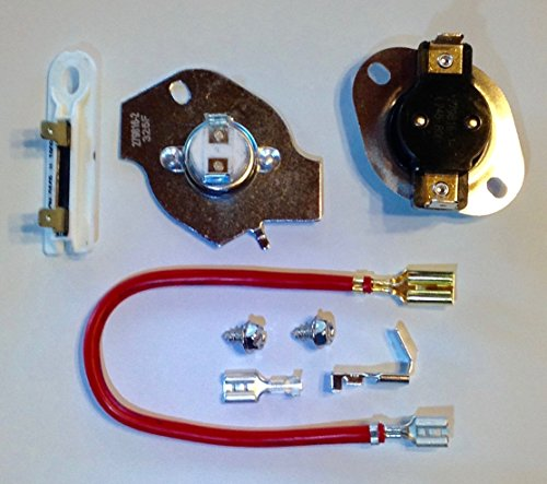 Artisan1 279816 3390291 3977393 3392519 Dryer Thermal Cut-Out Kit - Thermostat and Fuses for Whirlpool Kenmore Sears Roper Admiral and Maytag Electric Dryers - Thermal Kit