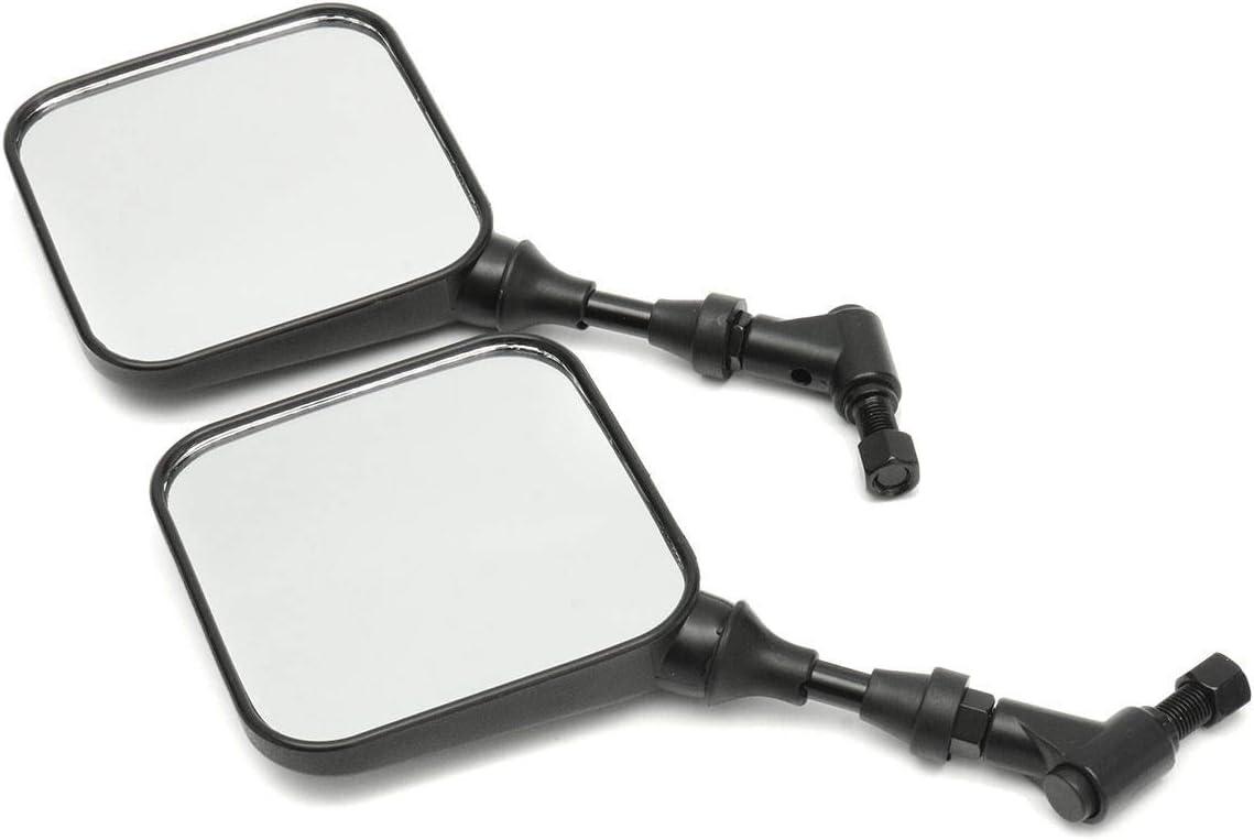 Paar Motorrad-Spiegel R/ückansicht Seitenspiegel for Suzuki DR 200 250 DR350 350 DRZ 400 650 DR650