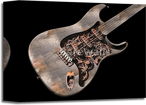 Grungy Steam Punk Guitar 3